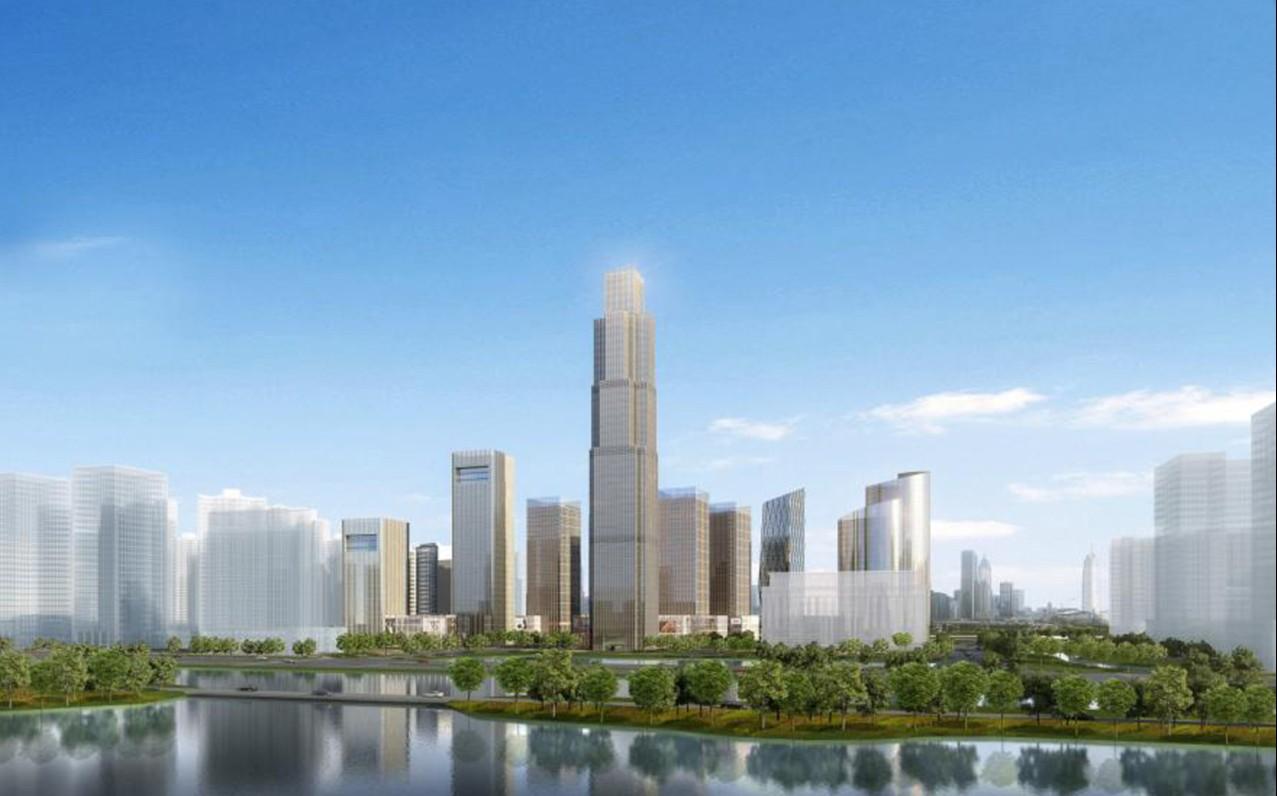淮安金融街概念规划